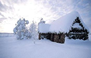 孕妇梦见下雪,会生一个健康漂亮的男孩.   少女梦见下雪,