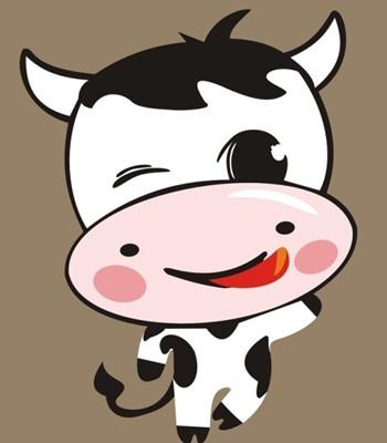 十二生肖趣谈之丑牛图片